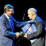 Leszek Czajkowski. Laureat nagrody 2016 z Janem Żarynem